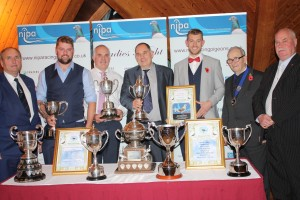 Russell Bros from Dromara were the major winners at the NIPA Ladies Night, 1st Open St Malo and several other awards including Erwin Trophy - Best Ave all Nat & Classic Races.