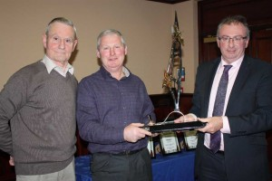 Capper Bros win the De Scheemaecker Trophy for runner-up in the National Championship.