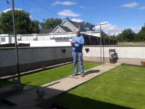 Jeff Surgenor from Kells, 1st MAC Roscrea with nestmate of last weeks 1st MAC Tullamore.