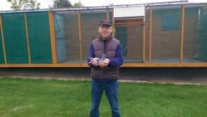 Jimmy Hanson, 1st, 2nd & 3rd Open NIPA from Roscrea Comeback 13,157 birds.