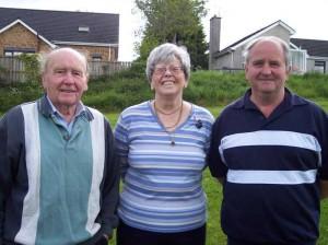 Martin, Heather & NIPA Secretary Fred Russell topped the NIPA Open.